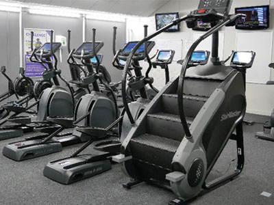 Photo of the gym at West Craven Sports Centre in Pendle, Lancashire